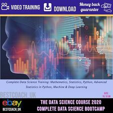 The Data Science Course 2020 Complete Data Science Bootcamp - Video Training