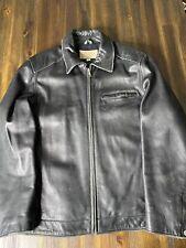 Guess Vintage Genuine Mens Soft Leather Jacket SIZE M