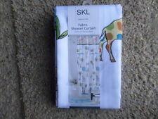 Skl Safari Jungle Fabric Shower Curtain New Msrp $59.99