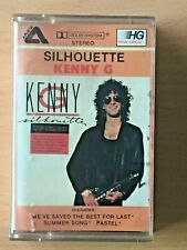KENNY G Silhouette PHILIPPINES Paper Label Cassette Tape