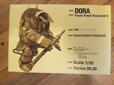Dora Ma.K SF3D Modelkasten 1/20 Complete