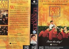 DEAD POETS SOCIETY-Robin Williams-VHS PAL NEW-Never played! -Original Oz release
