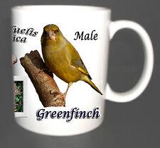 GREENFINCH GARDEN BIRD MUG LIMITED EDITION XMAS GIFT