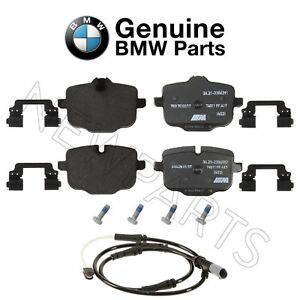 For Rear Brake Pad Set & Wear Sensor Genuine BMW F06 F10 F12 F13 M5 M6 GC