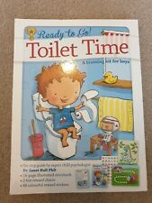 Toilet Time Potty Training Book Kit For Boys With Guide For Parents