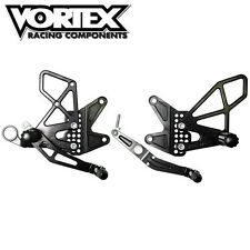Vortex rear sets foot pegs, Suzuki GSXR 2011-2015 600 , 750