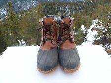 HONCHOS Men' Duck Boots Steel Shank, Size 11M, Great Boots!