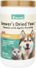 NaturVet Brewers Yeast Powder for Dogs & Cats-1 lb Powder