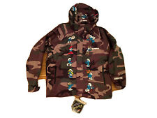 Supreme Smurfs Gore Tex Jacket M Camo Jacke Camouflage