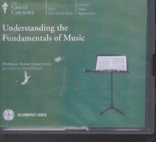 UNDERSTANDING THE FUNDAMENTALS OF MUSIC by THE GREAT COURSES CD'S ~16 CD's