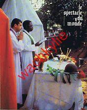 Le spectacle du monde n°196 07/1978 Corse Tchad Angola Rivarol Rhodésie Raimbaud