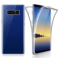 SDTEK Samsung Galaxy Note 8 Case 360 Full Cover Silicone Front + Back