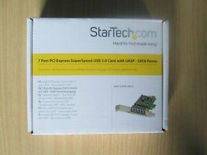 Startech 7 Port USB 3 Card PEXUSB3S7 PCI Express SuperSpeed USB 3.0 Adapter