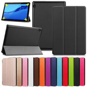 """For Huawei MediaPad T3 7"""" 8"""" 10"""" Tablet Folio Slim PU Leather Case Stand Cover"""