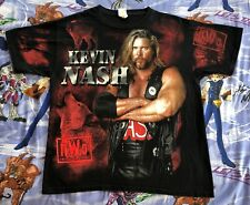 Kevin Nash nWo T-Shirt WCW New World Order nWo too sweet Large all over print