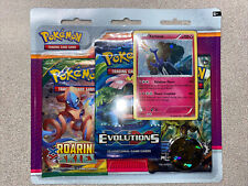 Pokemon TCG XY Xerneas 3 Pack Blister [3 Booster Packs, Promo Card & Coin!] RARE