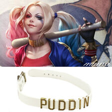 Cosplay Suicide Squad Harley Quinn CHOKER Inspired Neck Collar Puddin Necklace
