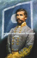 Major General Patrick R. Cleburne, CSA • Oil painting reproduction on canvas