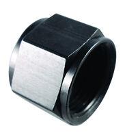 FRAGOLA 492908-BL 8 AN Flare Cap Black