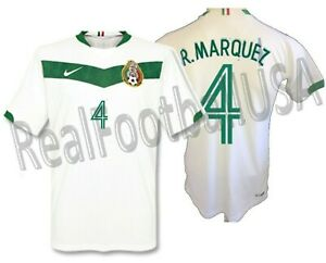 NIKE RAFAEL MARQUEZ MEXICO AWAY JERSEY FIFA WORLD CUP 2006