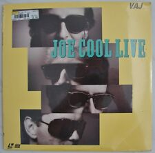 JOE COOL  LIVE    Jazz  Music  10 songs  Video  Concert  NEW  Laserdisc  Edition