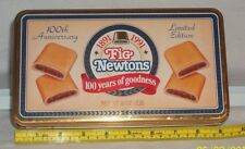 Vintage Fig Newtons 100th Anniversary Collector's Tin 1891-1991 Nabisco