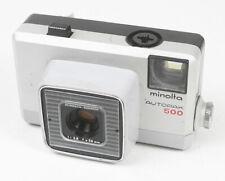 MINOLTA AUTOPAK 500, 38/2.8 ROKKOR, USES 126 FILM, HAS PROBLEMS/167800