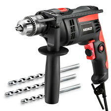 "Neiko 1/2"" Electric Corded Hammer/ Impact Drill 