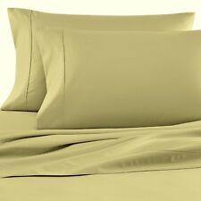WAMSUTTA 1000 Thread Dream Zone GREEN Sateen Standard Pillowcases, 2 count, NEW