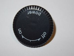 Replacement On / Off Power Knob Switch Button / Fits Technics SL1200 SL1210 MK 2