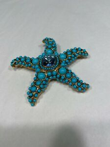 KJL turquoise starfish