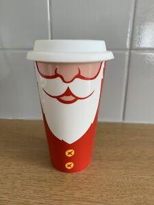 Costa Coffee Christmas Mug Travel Cup Santa New