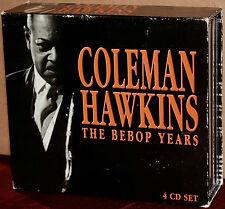 PROPER 4-CD Set PROPERBOX-14: COLEMAN HAWKINS - The Bebop Years - 2000 UK