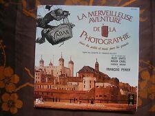 LP LIVRE-DISQUE LA MERVEILLEUSE AVENTURE DE LA PHOTOGRAPHIE + Livret 16 Pages