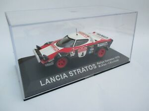 LANCIA STRATOS rally car model Sanremo Rally 1978 M.Alen / I.Kivimaki + Mag.