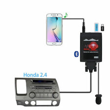 Car Radio MP3 Player USB AUX in Adapter Bluetooth For Honda2.4 Accord Acura Blac