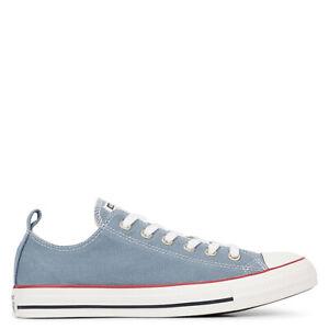 Converse All Star Washed Denim sneaker scarpa uomo art. 164004C col. celeste