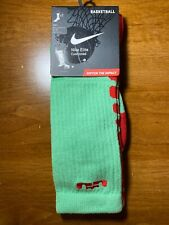New Nike Elite Lebron 10 Xmas Socks LA Lakers