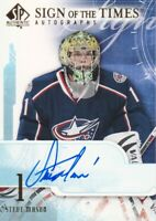 2008-09 SP Authentic Hockey Sign of Times AUTO Steve Mason Columbus Blue Jackets