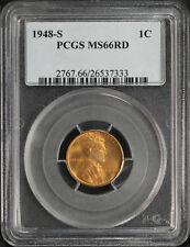 1948-S Lincoln Wheat Cent PCGS MS-66RD -106478