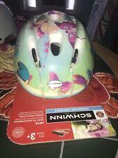 Girl / Toddler Bicycle Helmet, XS/S, Butterflies, Schwinn, NWT!
