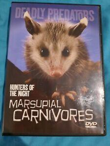 Marsupial Carnivores Deadly Predators - DVD Australian marsupials documentary