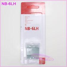 NB-6LH battery for canon IXUS200 IXUS210 IXUS300 IXUS310 IXUS330 CB-2LYE NB-6L