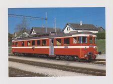 SWITZERLAND        CJ - Chemins de fer du Jura railcar # 101 at Bonfol in 1983