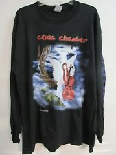 NEW - COAL CHAMBER 1999 LICENSE CONCERT / MUSIC T-SHIRT LONG SLEEVE EXTRA LARGE