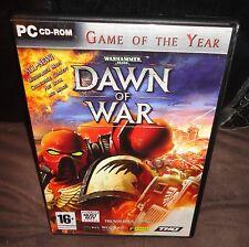 Warhammer 40,000: Dawn of war PC Jeu 3 disques