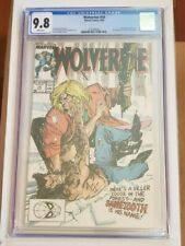 Wolverine #10 CGC 9.8 White Pages