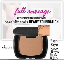 bareMinerals READY SPF20 Foundation Medium Tan R150, 170, 250, 270, 310, 330 NIB
