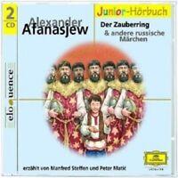 MANFRED/MATIC,PETER STEFFEN - RUSSISCHE MÄRCHEN 2-DER ZAUBERRING 2 CD NEW