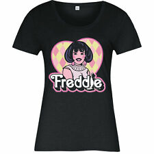 Freddie Mercury Electronic Techno Singer Spoof Gift Ladies T-shirt Top